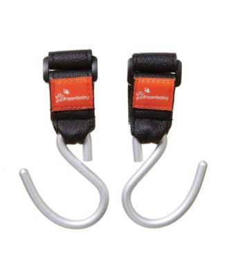 Dreambaby Stroller Fan Reviews Dreambaby Strollerbuddy Ezy Fit Stroller Hooks 2 Pack