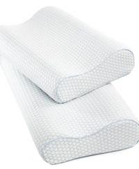 SensorGel Gel Infused Memory Foam Contour Pillows, Heat ...