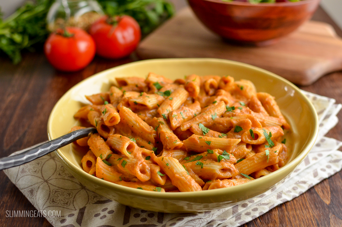 Cucina Pasta Sauce Syns Creamy Tomato Pasta Sauce Slimming World Recipes