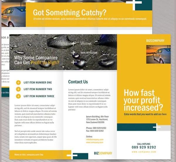 corporate brochure template - Company Brochure Templates