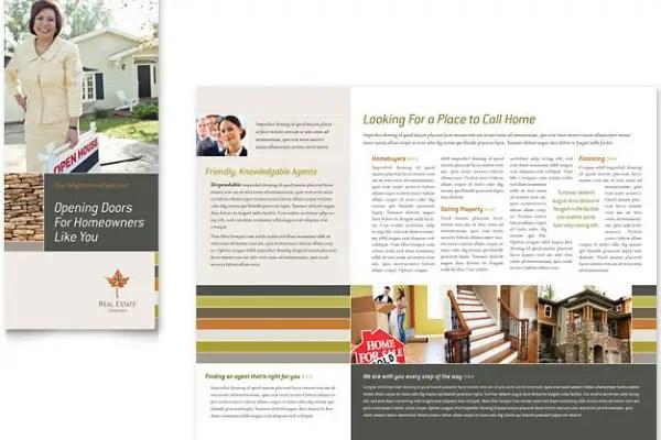 30 Great Looking Tri Fold Brochure Template Designs - free tri fold brochure templates word