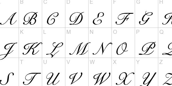 25 Free Calligraphy Fonts