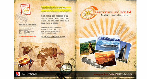 Travel Brochure Template Designs - 30 Killer Collections SloDive