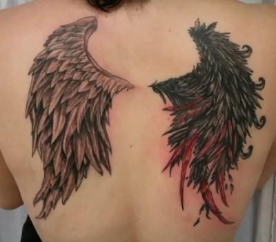 Angel Devil Bloody Wing