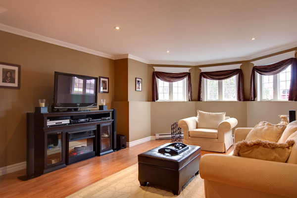 30 Stupendous Living Room Color Schemes - SloDive - paint schemes for living rooms