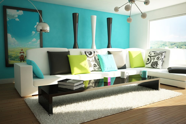 30 Stupendous Living Room Color Schemes - SloDive - color for living room