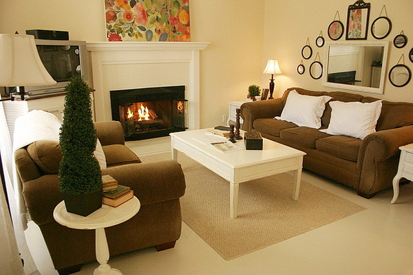 30 Magnificent Small Living Room Decorating Ideas - SloDive - small living room decorating ideas