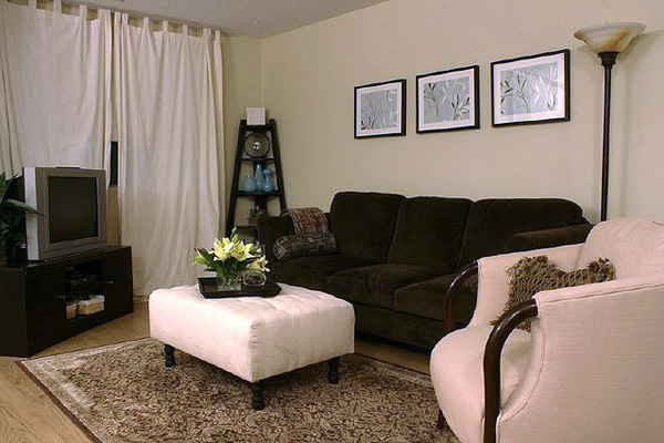 30 Magnificent Small Living Room Decorating Ideas - SloDive - cute living room ideas