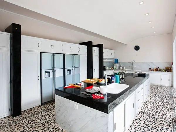 perfect black white kitchen glorious galley kitchen ideas slodive