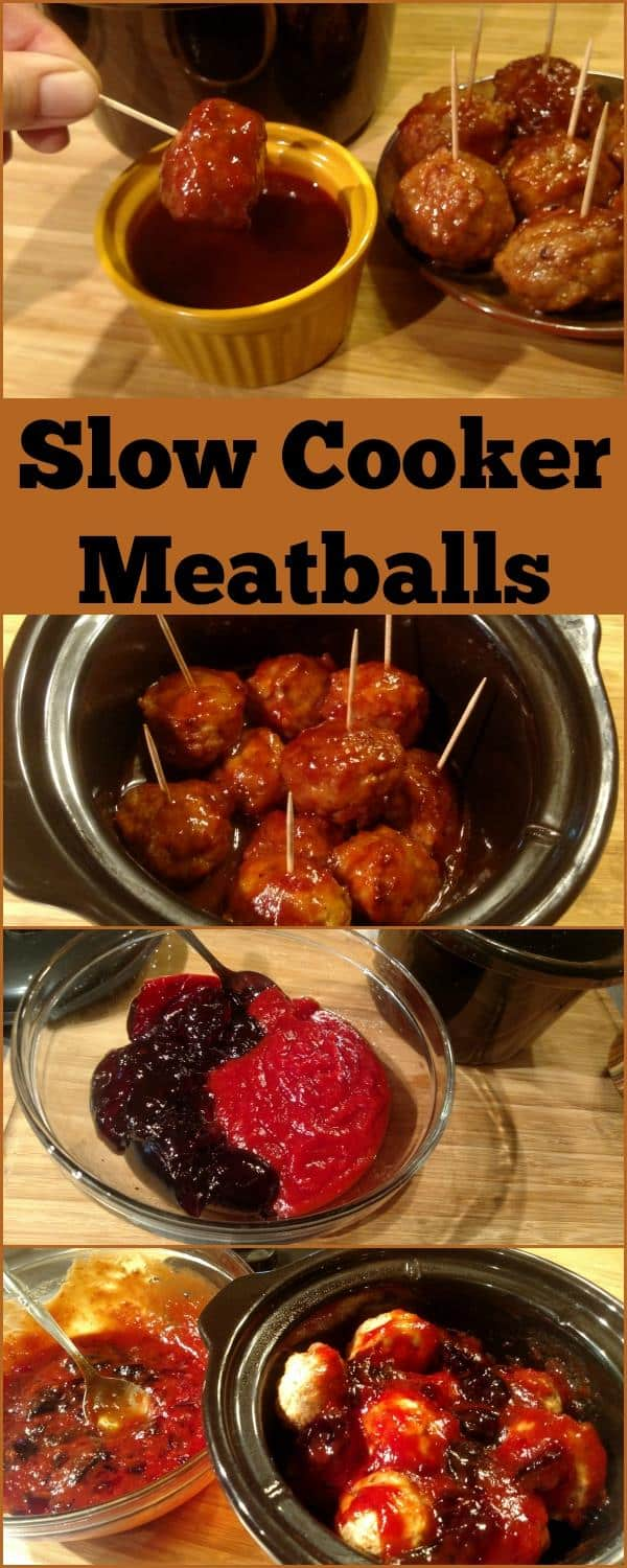 Easy Slow Cooker Meatballs - Slow Cooker Kitchen