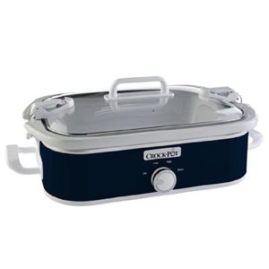 Crock-Pot 3.5-Quart Casserole Crock Slow Cooker