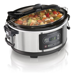 Hamilton Beach 5-Quart Programmable Stay or Go Slow Cooker