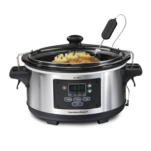 Hamilton Beach 6-Quart Set 'n Forget Programmable Slow Cooker