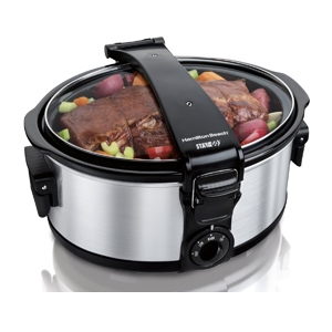 Hamilton Beach Stay or Go 6-Quart Portable Slow Cooker