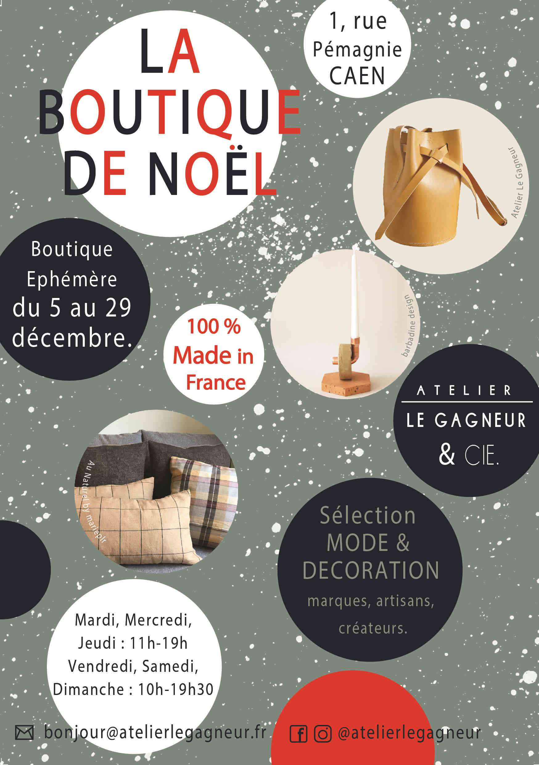 Destockage Caen Event Caen La Boutique De Noël Made In France à Caen Sloweare