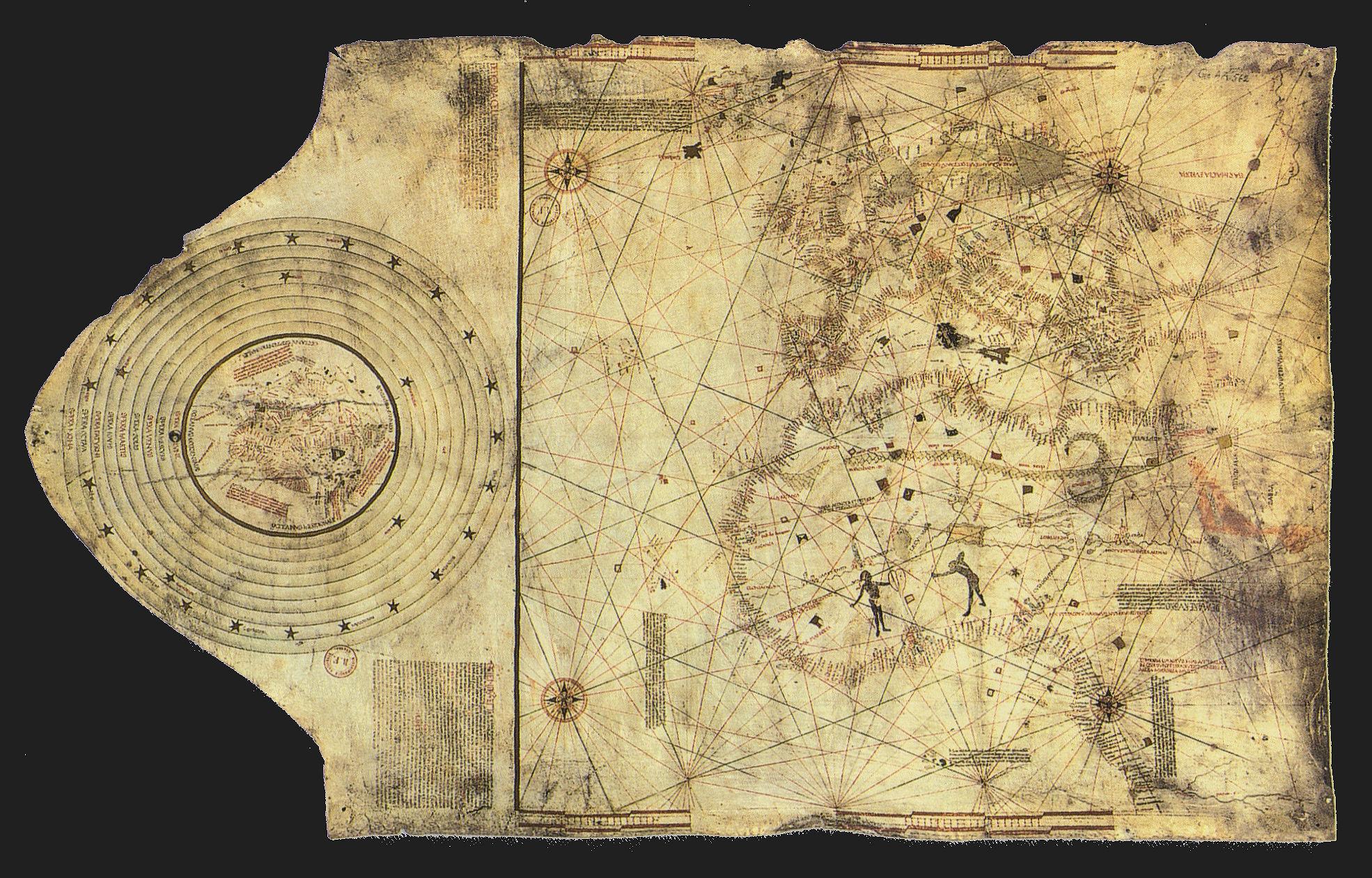 콜럼버스의 지도 (퍼블릭 도메인)