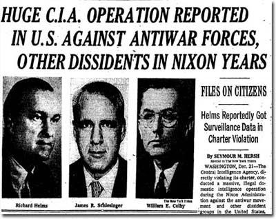 뉴욕타임스 (1974년 12월 22일 자 헤드라인)