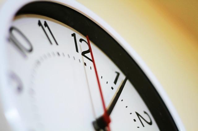 시간 시계 미래