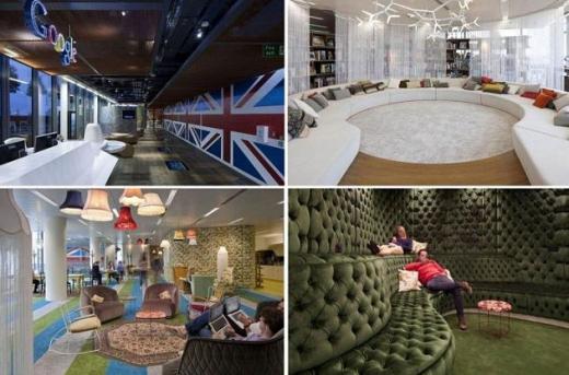 구글의 런던 사무실