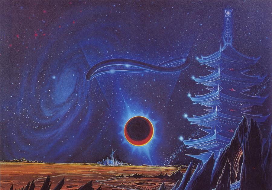 Psychedelic Wallpaper Hd 80 S Sci Fi Art Compilation ϟ S L O W S O U L B U R N ϟ