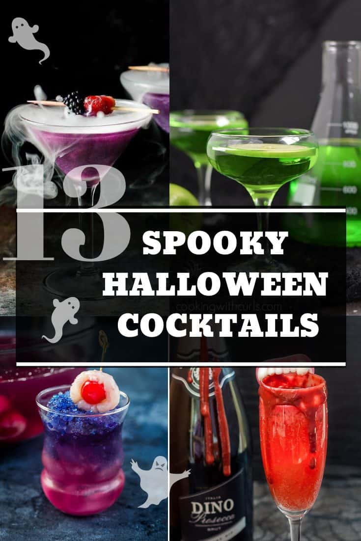Easy Halloween Shots Recipes 13 Spooky Halloween Cocktail Recipes Slow The Cook Down