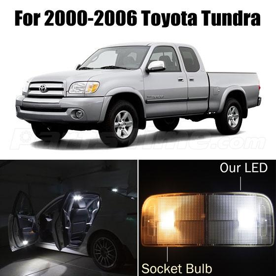 Led Dome Light Bulb Not Working 10x White Led Lights Interior Package Deal For Toyota