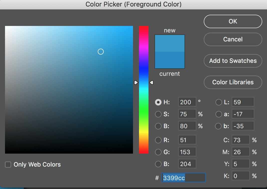 Photoshop 5 Photoshop Tips How To Use The Color Picker Tool