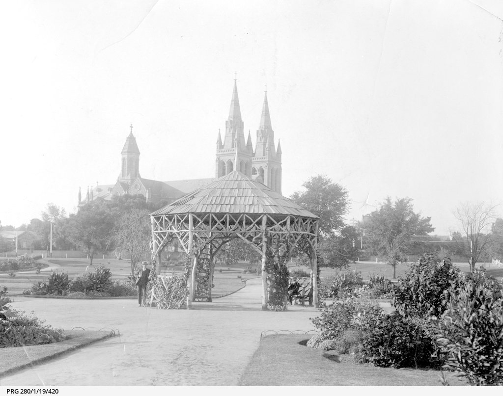Gazebo Adelaide Pennington Gardens Adelaide Photograph State Library Of South