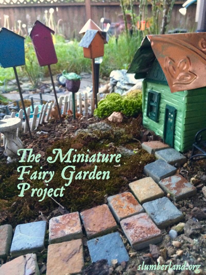 Large Of Miniature Fairy Garden
