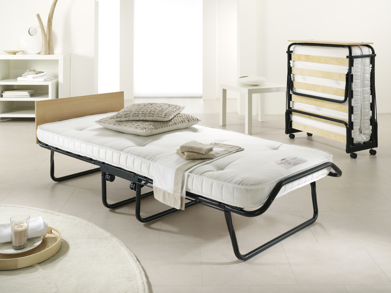 Folding Double Guest Bed With Mattress Folding Beds From Slumberslumber Page 1 Of 2
