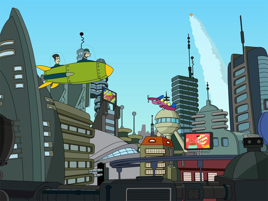 Car Hdr Wallpaper Futurama City Www Pixshark Com Images Galleries With A