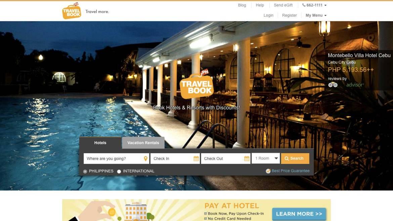 Travelbook.ph site