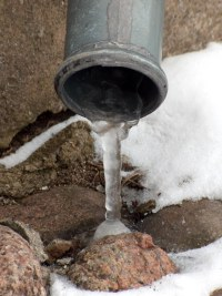 My water pipes froze  now what do I do?  Service Line ...