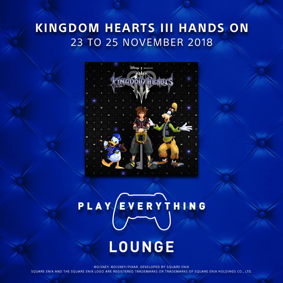 Blue Lounge Sony S Play Everything Lounge To Open In Sunway Pyramid Malaysia