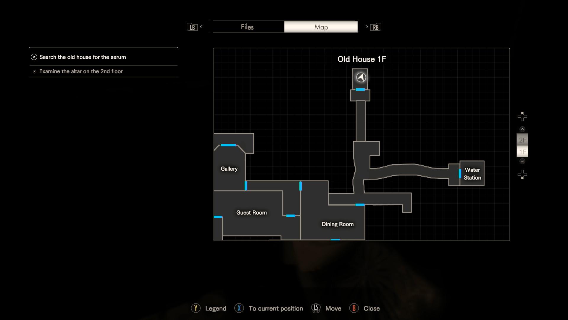 Resident Evil 7 Badezimmer Plissee Wohnzimmer Traunstein Xenia