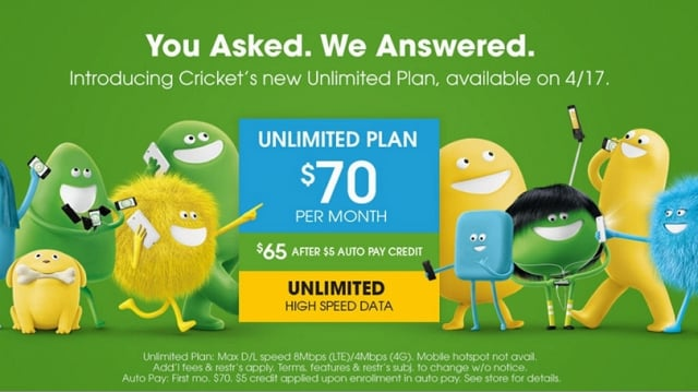 Cricket Wireless Takes on T-Mobile With $70 Unlimited Plan - PCMag UK