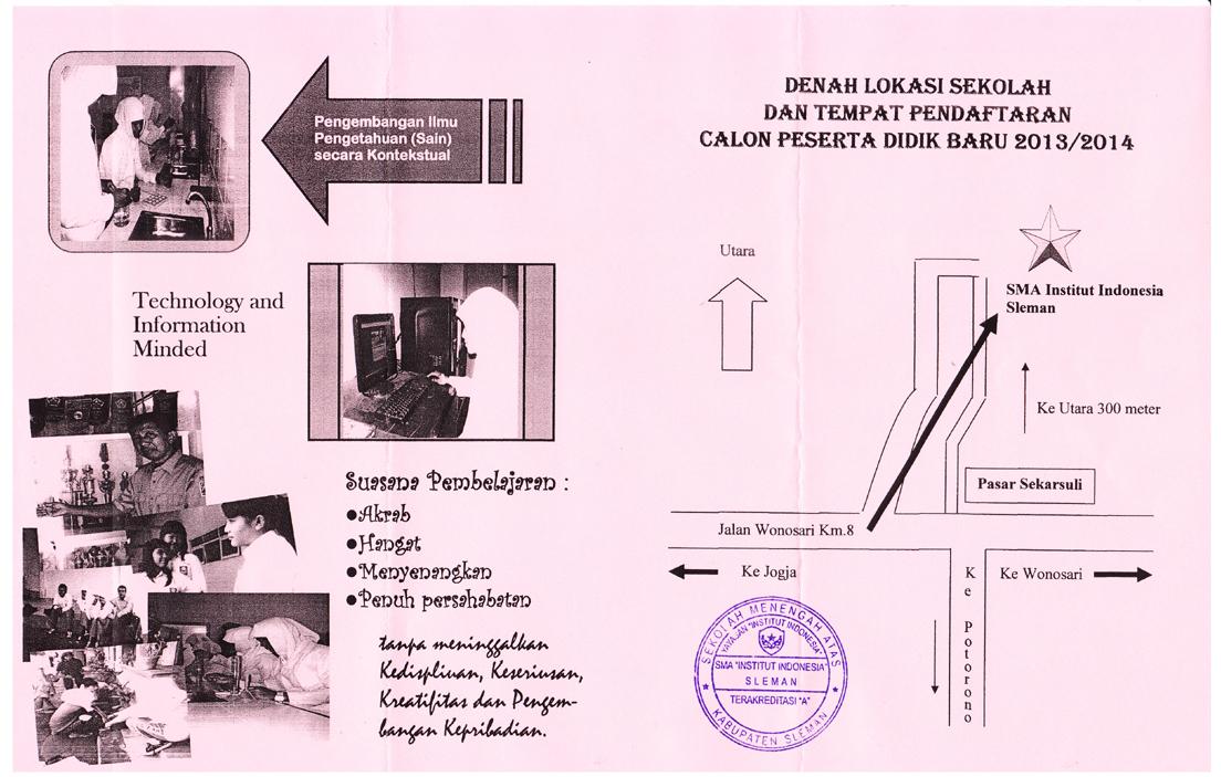 Pendaftaran Ut Yogyakarta 2013 Kelas Karyawan Di Jakarta Bandung Medan Yogyakarta Penerimaan Peserta Didik Baru Tahun Pelajaran 20132014
