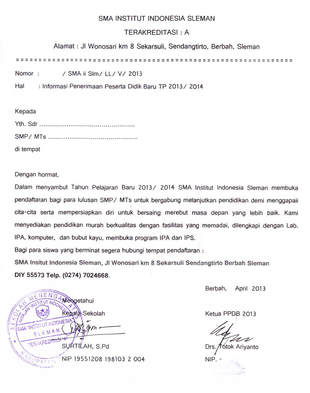 Pendaftaran Ut Yogyakarta 2013 Smp N 1 Mlati >> Smp N 1 Mlati Asli Akan Diberikan Dispensasi Berupa Bebas Biaya Pendaftaran