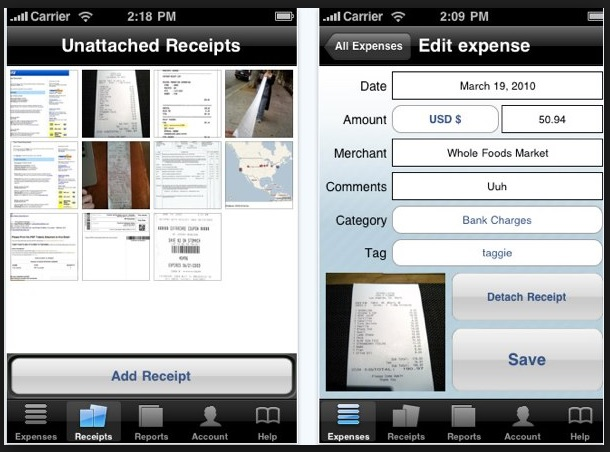 10 Best Organization and Productivity Apps for Entrepreneurs - business expense tracking app