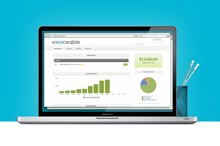 5 Cloud Based Apps that Eliminate the Invoicing \u201cPaper\u201d Mountain - invoice web app