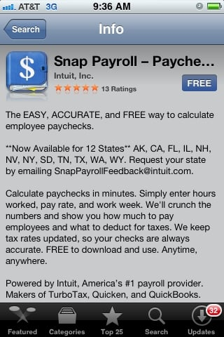 Free Snap Payroll App Now Available for Small Businesses - Small