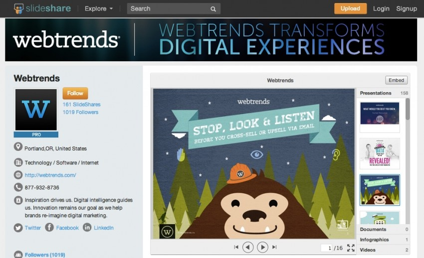 SlideShare Premium Features Are Now Free - Small Business Trends