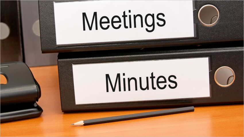 What Are Meeting Minutes and How do You Record Them? - Small