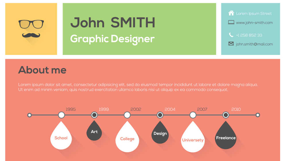 The Infographic Resume Pros, Cons and How-To - Small Business Trends