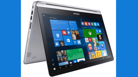 Samsung Notebook 7 Spin Pricey for Business But Maybe Good for Road Warriors