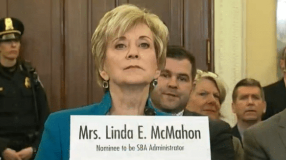7 Reasons Why Linda McMahon Is a Great Pick for SBA Administrator - Small Business Administration
