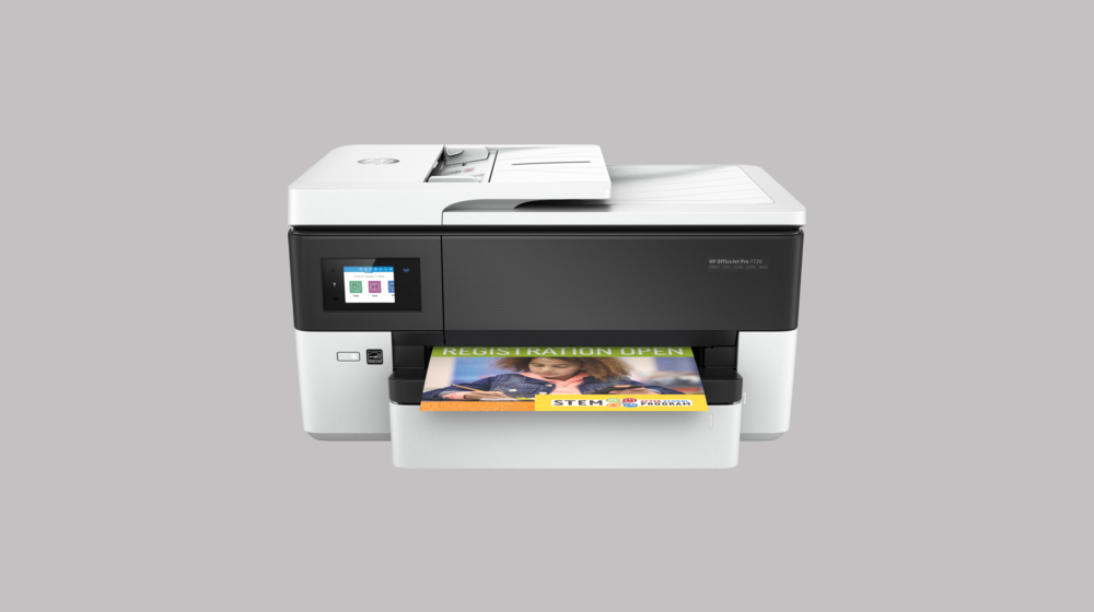 Introducing the New Wide Format HP OfficeJet Pro 7720 Printer for Small Businesses