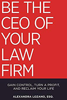 Be The CEO of Your Law Firm. Gain Control, Turn a Profit, and Reclaim Your Life