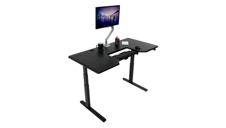 What is the Best Standing Desk for Your Business? - Lander Desk with SteadyType