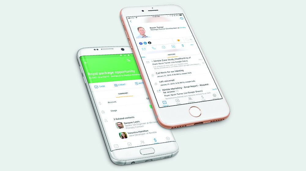 Nimble Email Tracking Tab Now Available on iOS